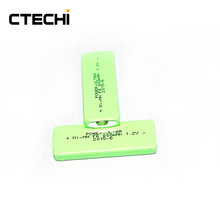 Chewing gum type rechargeable battery 1.2V F6 800mah NIMH type