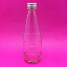 wholesale round glass salad dressing/ketchup/jam bottle 11oz 330ml with aluminum lid