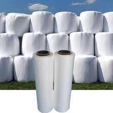 Agriculture plastic packaging bale corn silage wrap film for grass balers