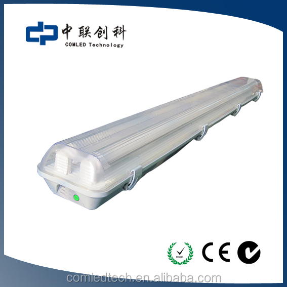 isolate driver tube8 led emergency fixture with SAA CC-TICK 2*18w