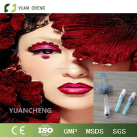 China manufacturer Derm filler HA hyaluronic aicd filler Derm 0.15-0.28 mm volume 2ml/ lip enhancer/lip plumper