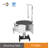 FT-805Cbulk buying aeolus hydraulic grey lift puppy grooming table with cabinets