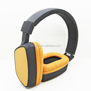2016 popular foldable noise-cancelling PRIVATE MODEL rubber finish bluetooth headphone