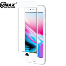 Vmax screen protector for iphone 8 , mobile tempered glass protective film for iphone 8 screen protector