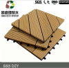 outdoor wpc diy flooring for balcony high quality wpc interlocking decking tiles cheap price wpc anti-uv deck tiles