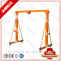 Maintenance and Pulling product Using Lifting Materials A Frame Hoist