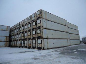 53' Aluminum Insulated Reefer Container