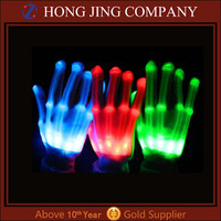 China wholesale led hand gloves for decoration