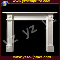 home decorative Stone Fireplace Carving Surround
