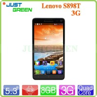 china wholesale Lenovo S898T android phone 5.3 Inch Capacitive Screen MT6589T Quad Core android 4.2 rom 8gb