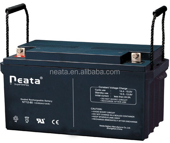 12v 80ah/90ah gel batteries for solar system