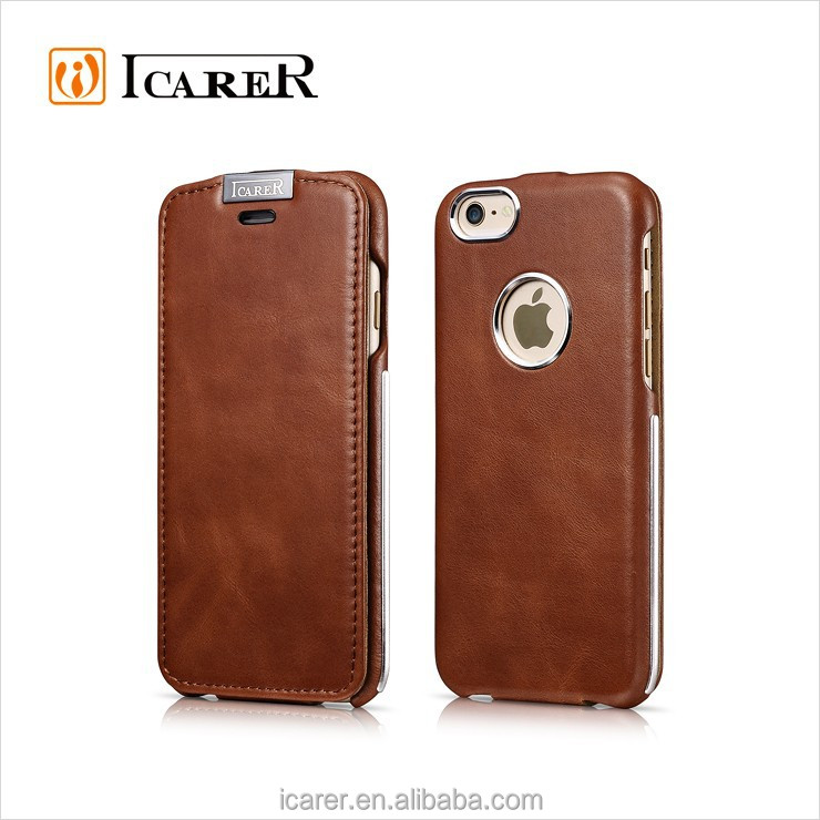Creative Slim Mobile Phone Case for iPhone 6 Leather Case