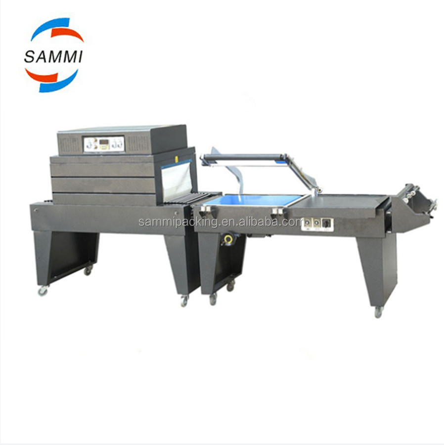 Top level useful automatic L bar shrink packing, wrapping machine