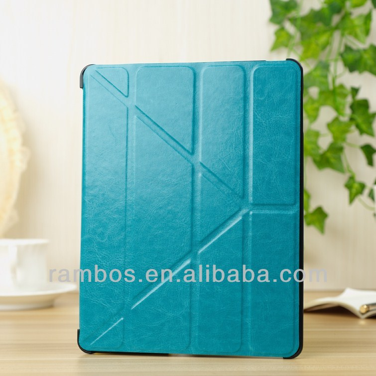 For iPad 2 3 4 Smart Cover Ultrathin Leather Case