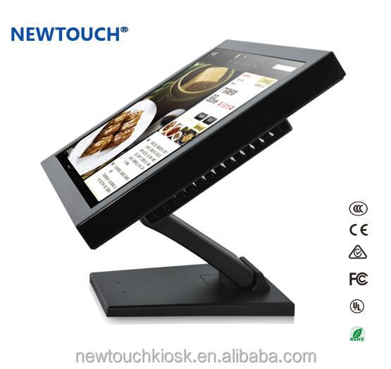 19 inch Factory price Self Service benchtop touchscreen kiosk