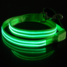 USB Rechargeable Flashing Light LED Dog Leash