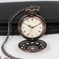 2014 Brass plating vintage pocket watch