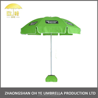 Hot sell promotional digital printing canvas painting beach umbrella