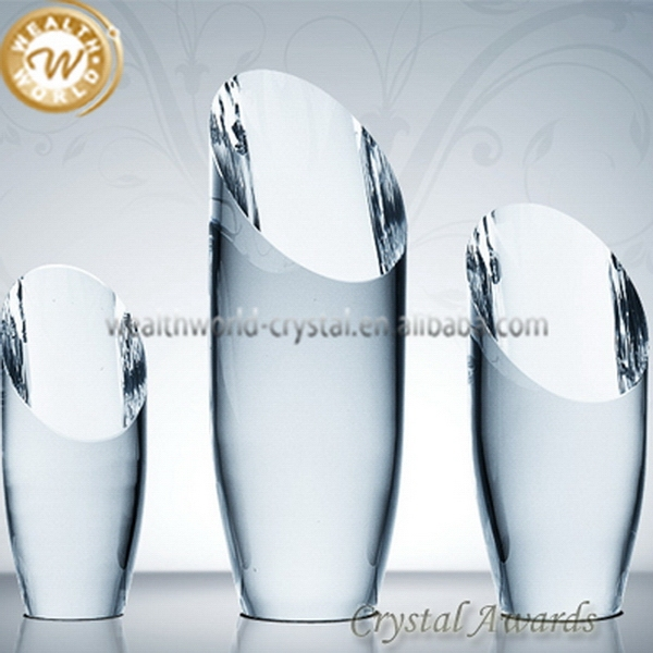 Designer hot-sale crystal plaque trophy for business