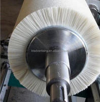 Glass washing machine brush roller industrial machinery brush roll ,polishing nylon filament brush roller, various brushes