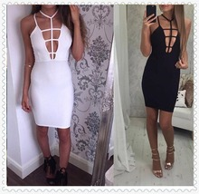China fashion wholesale clothing apparel women sexy bandage dresses
