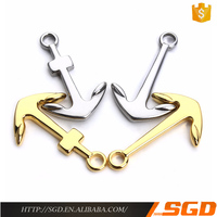 jewelry wholesale china business stainless steel 14k gold charms