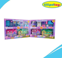 Newest Pretend Toy 2015 Sweet Villa with Beauty House Furniture