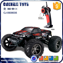 1:12 plastic high speed super racing big wheels rc car