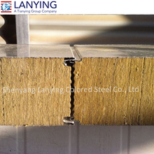 rock wool fireproof insulation sandwich panel fireproof board