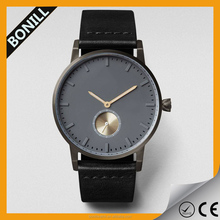 High quality no brand name leather watches from china oem watch manufacturer