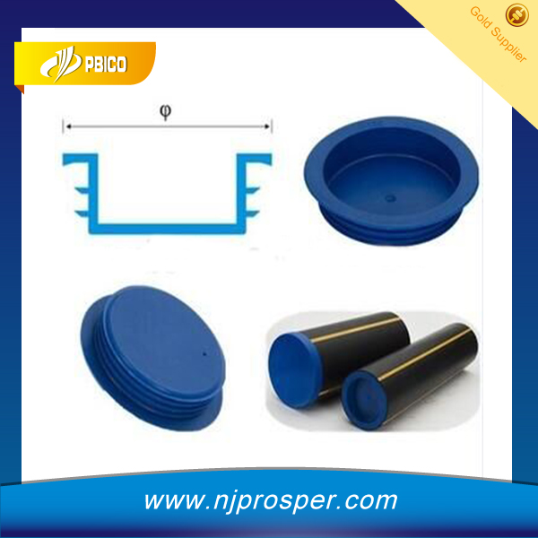 Plastic PE Gas Pipe Plugs/Cover/Protectors For Orifice Protection