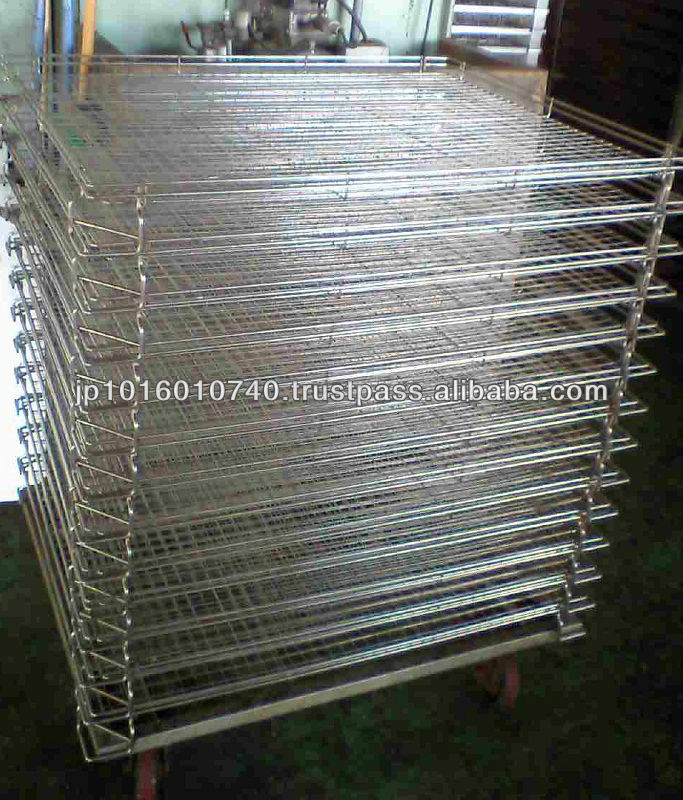 Stackable wire shelf / Excellent ventilation food drying rack made with SUS 304