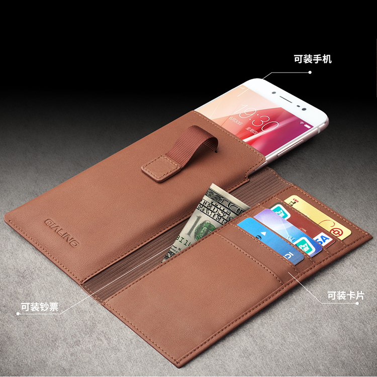 2016 china manufacturer excellent quality Oem custom made mobile phone pu leather case wallet