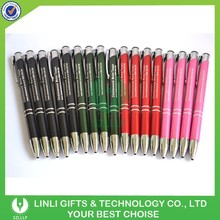 Customized Branded Promotional Cheap Metal Ball Pen