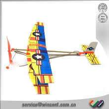 EVA foam rubber powered glider airplane assembly toys