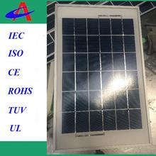 5W 6V solar panel with USB outlet