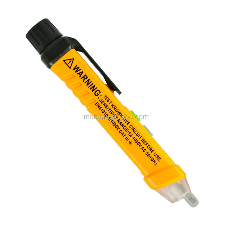 China Induction Pencil AC voltage tester with LED flashlight Educational instrument
