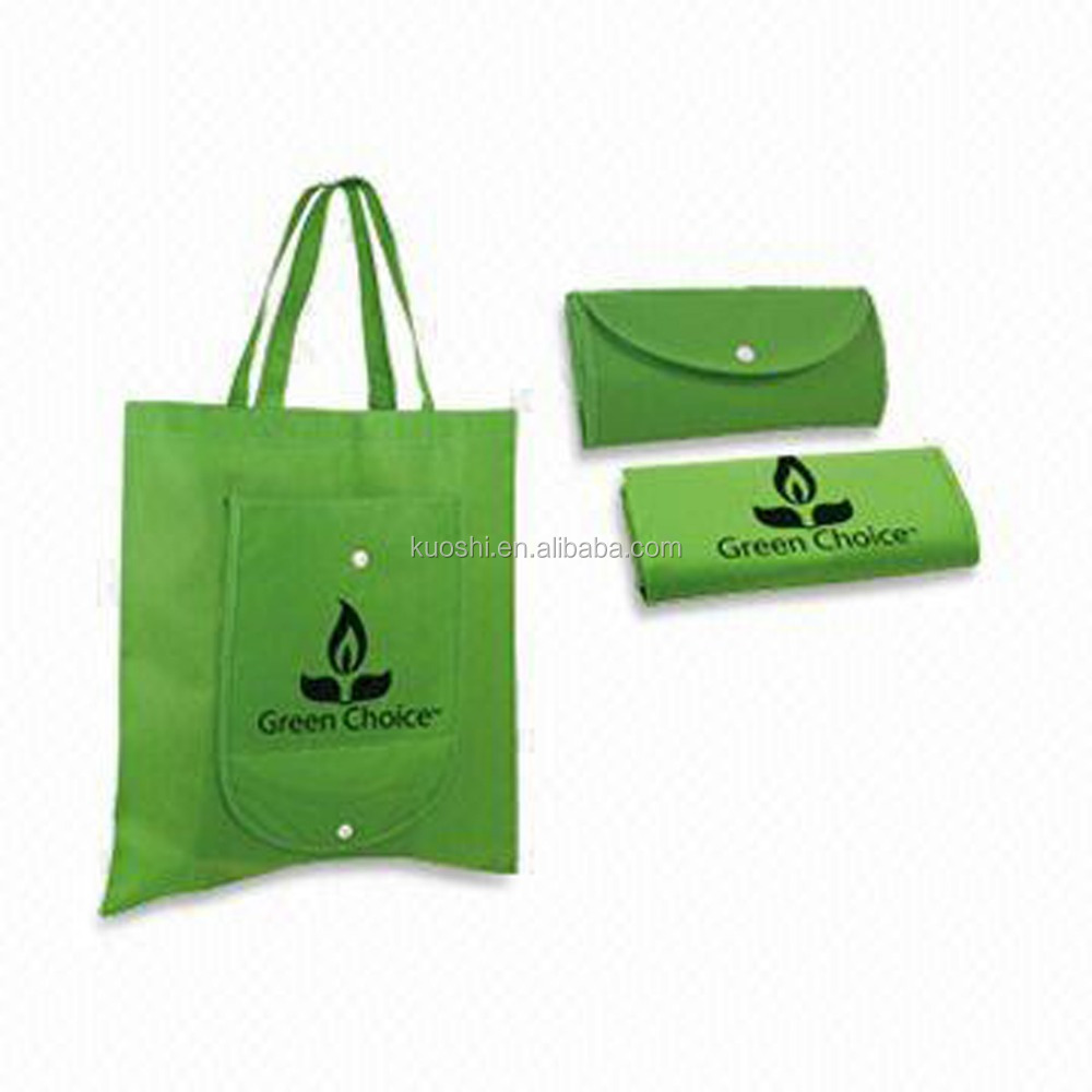 Foldable non woven fabric shopping bags