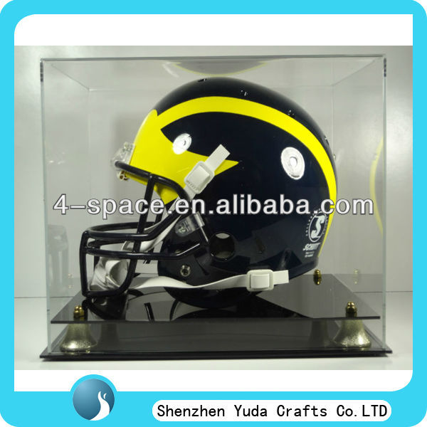Full sized Acrylic Football Helmet Display Case,acrylic products display case