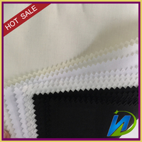 dyed 80/20 polyester cotton woven plain pocketing fabirc