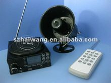 hunting bird caller with timer (200m remote,12V,15keys)