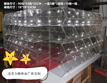 Factory Wholesale Acrylic Storage Display Stand for Retail Store