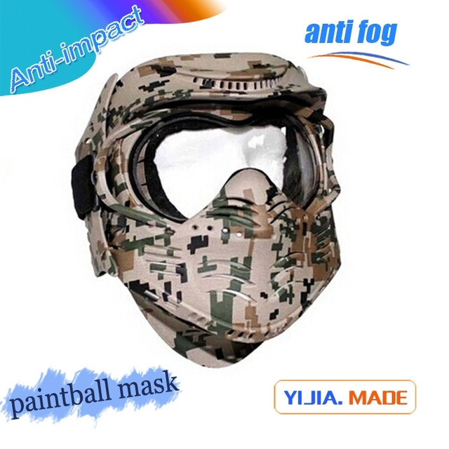 Hot sale military army of two paintball masks