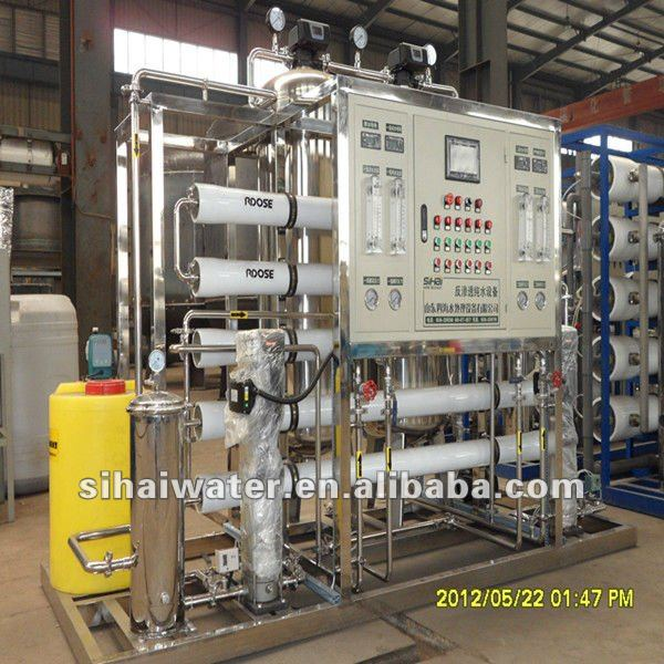 3000L/H reverse osmosis machine salt desalination water treatment