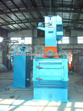 Rubber belt shotblasting machine, with apron type sandblasting machine,Casting machinery manufacturer from China