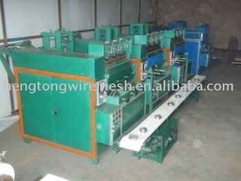 stainless steel scrubber making machine