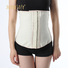 Women weight loss belt lumbar support back brace waist trainer latex fabric