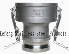 CNC lathes stainless steel quick connecting coupling for fastening pipes manufacturing
