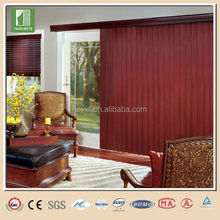 High quality full blackout parts for vertical blinds pvc slat for vertical blinds