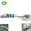 Full automatic soft drawing type facial tissue paper production line